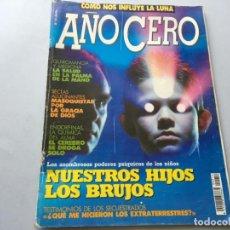 Coleccionismo de Revistas y Periódicos: REVISTA AÑO CERO 0 Nº 12 SECUESTROS EXTRATERRESTRES POLTERGEIST EN MALAGA COMO INFLUYE LA LUNA. Lote 194776807