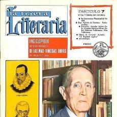 Coleccionismo de Revistas y Periódicos: LA TIJERA LITERARIA. ENCICLOPEDIA HISTÓRICO-ANTOLÓGICA DE LAS MAS FAMOSAS OBRAS EN LENGUA CASTELLANA. Lote 194833027