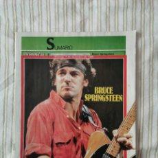 Coleccionismo de Revistas y Periódicos: REVISTA DOMINICAL 7 DE DICIEMBRE DE 1986 ESPECIAL BRUCE SPRINGSTEEN. Lote 194859556