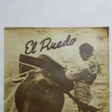 Coleccionismo de Revistas y Periódicos: EL RUEDO, SUPLEMENTO TAURINO DE MARCA, SEPTIEMBRE DE 1944, Nº 15. Lote 194881803