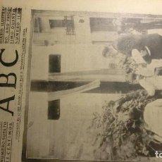 Coleccionismo de Revistas y Periódicos: ABC 5 DE JULIO DE 1939. TENSION EN EUROPA.. Lote 194884056