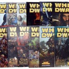 Coleccionismo de Revistas y Periódicos: LOTE DE 14 REVISTAS WHITE DWARF DE GAMES WORKSHOP. Lote 194885527