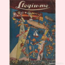 Coleccionismo de Revistas y Periódicos: LLEGIU-ME, REVISTA GENER VOL. II 1927. Lote 194885691