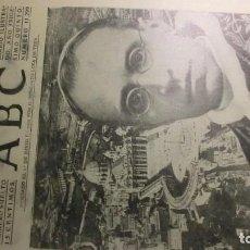 Coleccionismo de Revistas y Periódicos: ABC 30 DE AGOSTO DE 1939.TENSION EN EUROPA.. Lote 194887605