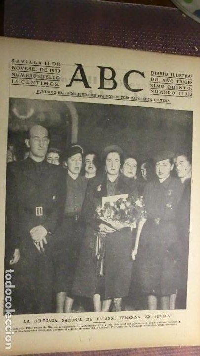 ABC 11 DE NOVIEMBRE DE 1939.GUERRA MUNDIAL. (Coleccionismo - Revistas y Periódicos Antiguos (hasta 1.939))