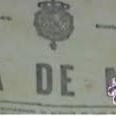 Coleccionismo de Revistas y Periódicos: GACETA 1/5/1914 CONDE DE MACEDA, MARQUESA DE SANTA MARIA DEL VILLAR, LOSADA Y TORRES. Lote 194893035