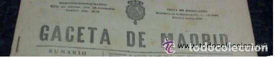 GACETA 1/5/1914 GONZALEZ TABLAS, ANTEPUERTO ALICANTE, PANTANO DE TALAVE, CODORNIU Y STARICO (Coleccionismo - Revistas y Periódicos Antiguos (hasta 1.939))