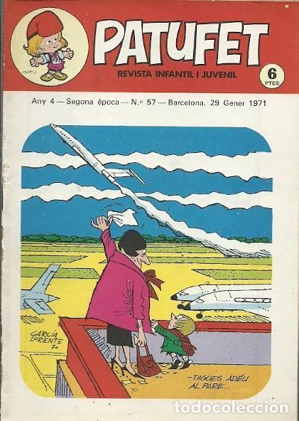 REVISTA INFANTIL I JUVENIL ANY 4 SEGONA EPOCA Nº 57 BARCELONA 29 GENER 1971 (Coleccionismo - Revistas y Periódicos Modernos (a partir de 1.940) - Otros)