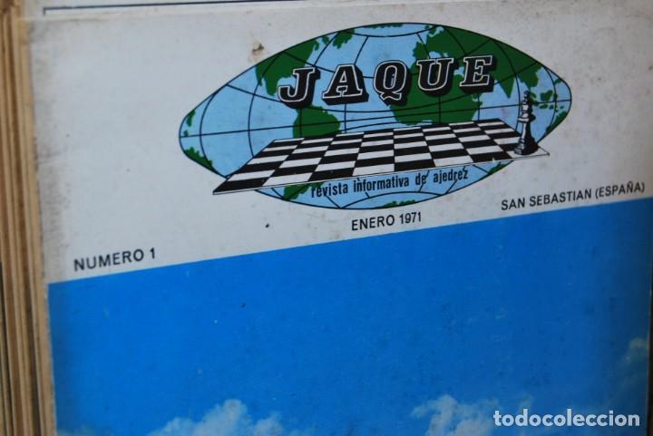 Coleccionismo de Revistas y Periódicos: REVISTA JAQUE - REVISTA ESPAÑOLA DE AJEDREZ - NÚMEROS 1 A 144 - Foto 3 - 194895088