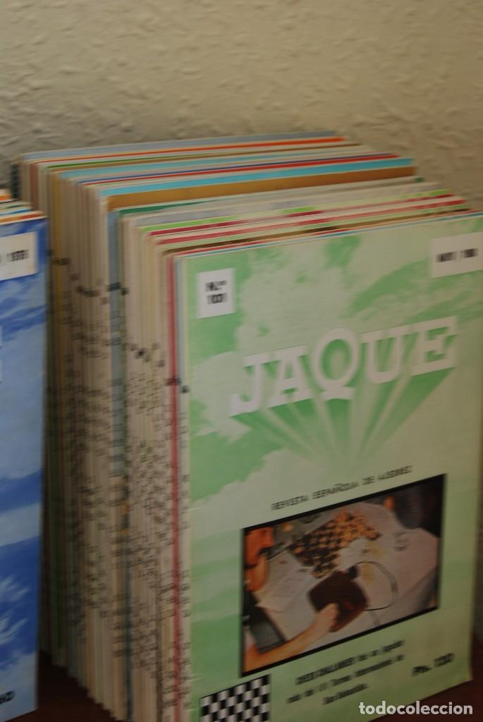 Coleccionismo de Revistas y Periódicos: REVISTA JAQUE - REVISTA ESPAÑOLA DE AJEDREZ - NÚMEROS 1 A 144 - Foto 5 - 194895088