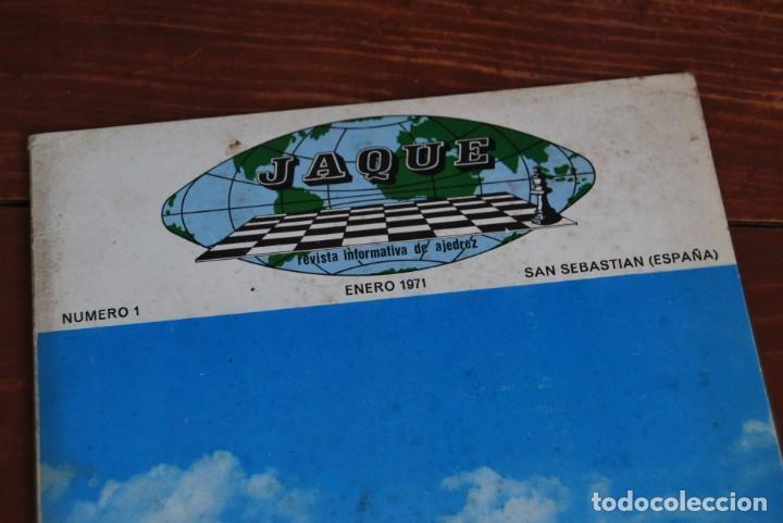 Coleccionismo de Revistas y Periódicos: REVISTA JAQUE - REVISTA ESPAÑOLA DE AJEDREZ - NÚMEROS 1 A 144 - Foto 7 - 194895088