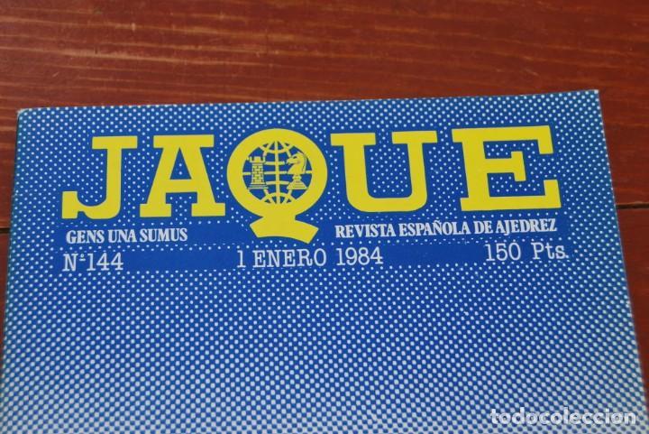 Coleccionismo de Revistas y Periódicos: REVISTA JAQUE - REVISTA ESPAÑOLA DE AJEDREZ - NÚMEROS 1 A 144 - Foto 8 - 194895088