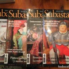 Coleccionismo de Revistas y Periódicos: REVISTAS SUBASTAS DEL SIGLO XXI Nº 84-85-86-87-AÑO 2007 LOTE 4 REV,. Lote 194896023