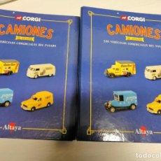 Coleccionismo de Revistas y Periódicos: 2 FICHEROS TOMO I Y 2 DE CAMIONES DE ANTAÑO DE GORGI. Lote 194896545