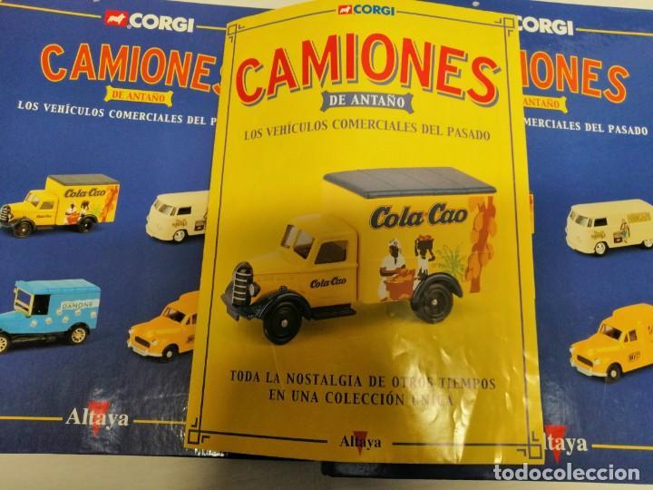 Coleccionismo de Revistas y Periódicos: 2 FICHEROS TOMO I Y 2 DE CAMIONES DE ANTAÑO DE GORGI - Foto 2 - 194896545
