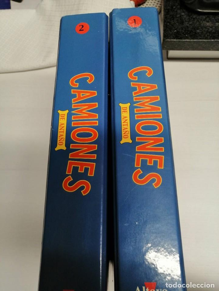 Coleccionismo de Revistas y Periódicos: 2 FICHEROS TOMO I Y 2 DE CAMIONES DE ANTAÑO DE GORGI - Foto 6 - 194896545