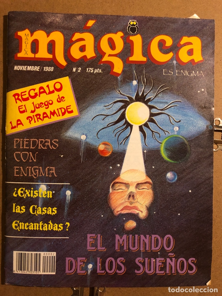 MÁGICA ES ENIGMA N° 2 (1988). JUEGO DE LA PIRÁMIDE, EL MUNDO DE LOS SUEÑOS,... (Coleccionismo - Revistas y Periódicos Modernos (a partir de 1.940) - Otros)