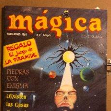 Coleccionismo de Revistas y Periódicos: MÁGICA ES ENIGMA N° 2 (1988). JUEGO DE LA PIRÁMIDE, EL MUNDO DE LOS SUEÑOS,.... Lote 194904566