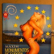 Coleccionismo de Revistas y Periódicos: MAXIM MONUMENTOS DE EUROPA (2005). ADRIANA KAREMBEU, EVA HERZOGOVA, NINA MORIC,.... Lote 194904647