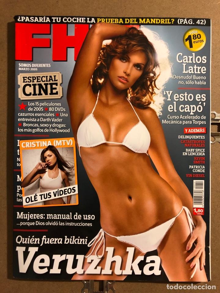 FHM N° 12 (2005). VERUZHKA, PATRICIA CONDE, CRISTINA (MTV), VIN DIESEL, DELINQUENTES,... (Coleccionismo - Revistas y Periódicos Modernos (a partir de 1.940) - Otros)