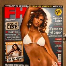 Coleccionismo de Revistas y Periódicos: FHM N° 12 (2005). VERUZHKA, PATRICIA CONDE, CRISTINA (MTV), VIN DIESEL, DELINQUENTES,.... Lote 194904735
