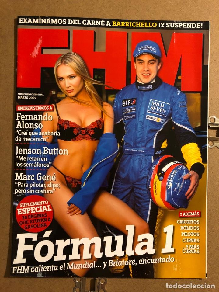 FHM ESPECIAL SUPLEMENTO FORMULA 1 (2005). FERNANDO ALONSO, JENSON BUTTON, MARC GENÉ,... (Coleccionismo - Revistas y Periódicos Modernos (a partir de 1.940) - Otros)