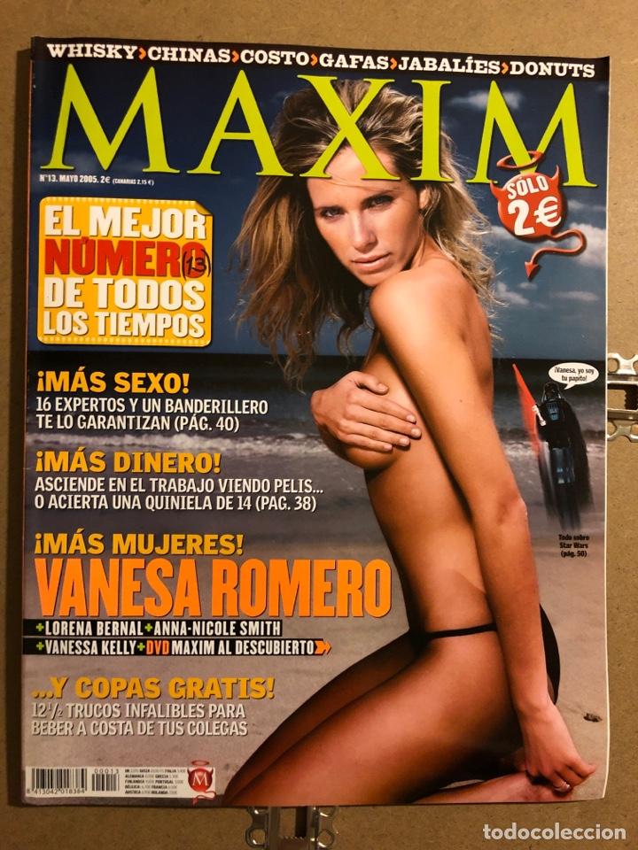 MAXIM N° 13 (2005). VANESSA ROMERO, LORENA BERNAL, ANNA NICOLE SMITH, VANESSA KELLY,... (Coleccionismo - Revistas y Periódicos Modernos (a partir de 1.940) - Otros)