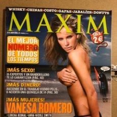 Coleccionismo de Revistas y Periódicos: MAXIM N° 13 (2005). VANESSA ROMERO, LORENA BERNAL, ANNA NICOLE SMITH, VANESSA KELLY,.... Lote 194905088