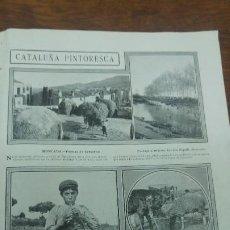 Coleccionismo de Revistas y Periódicos: SAN FOST MONCADA TUNA JOVELLANOS GIJON EXPLORADORES BARCELONA GELIDA IGLESUELA DEL CID TORTOSA 1913. Lote 194906101