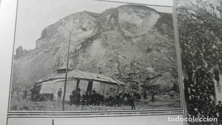 Coleccionismo de Revistas y Periódicos: GIJON CATASTROFE PUERTO MUSEL PRESA CANAL URGEL NAUFRAGIO AUTOMOVIL HOSPITALET LLOBREGAT 1913 - Foto 3 - 194906240