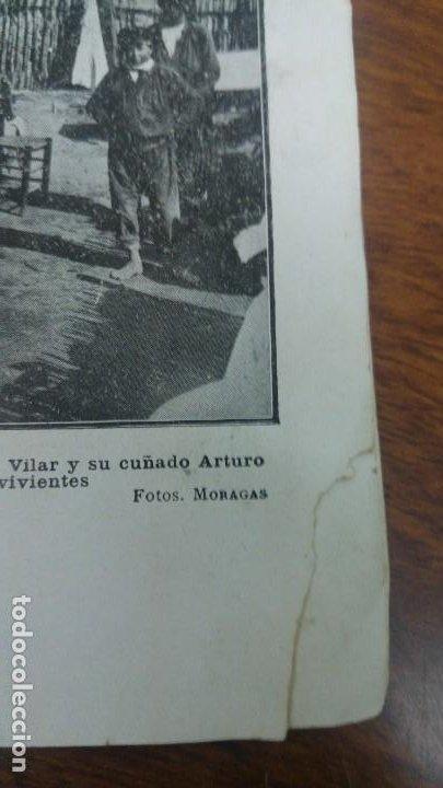 Coleccionismo de Revistas y Periódicos: GIJON CATASTROFE PUERTO MUSEL PRESA CANAL URGEL NAUFRAGIO AUTOMOVIL HOSPITALET LLOBREGAT 1913 - Foto 11 - 194906240