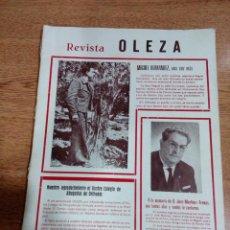 Coleccionismo de Revistas y Periódicos: ORIHUELA - REVISTA OLEZA - 1970 - MIGUEL HERNANDEZ - BUEN ESTADO - VER FOTOS . Lote 194908958
