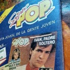 Coleccionismo de Revistas y Periódicos: REVISTA NUEVO VALE ANUNCIO SUPER POP TEQUILA, IVÁN, LADY DI, CARLOS DE INGLATERRA AÑOS 80. Lote 194909453