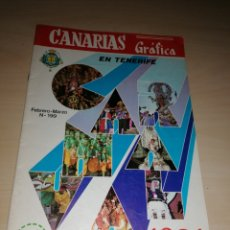 Coleccionismo de Revistas y Periódicos: REVISTA CANARIAS GRÁFICA, CARNAVAL SANTA CRUZ DE TENERIFE 1981. Lote 205750523