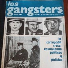 Coleccionismo de Revistas y Periódicos: LOS GANSTERS N. 5. Lote 194939395