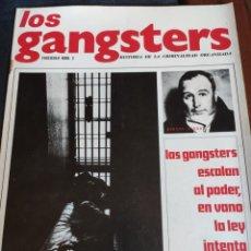 Coleccionismo de Revistas y Periódicos: LOS GANSTERS N.2. Lote 194939435