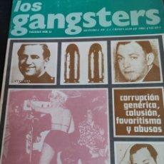 Coleccionismo de Revistas y Periódicos: LOS GANSTERS N. 12. Lote 194939446