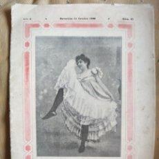 Coleccionismo de Revistas y Periódicos: LA VIDA GALANTE REVISTA AÑO 1899 ERÓTICA. Lote 194939716