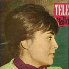 Coleccionismo de Revistas y Periódicos: REVISTA TELE RADIO Nº 246, 10-16 SEPTIEMBRE 1962, LOLA CARDONA, ANTOÑITA OYAMBURU. Lote 194940606