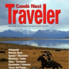Coleccionismo de Revistas y Periódicos: CONDÉ NAST TRAVELER MONOGRAFICO - Nº 54 ARGENTINA. Lote 194944367
