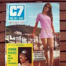 Coleccionismo de Revistas y Periódicos: CINE EN 7 DIAS / MARISOL, ALEXANDRA BASTEDO, MARGARET LEE, MARIA KOSTY, BELINDA LEE, DENEUVE. Lote 194945370