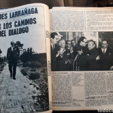 Coleccionismo de Revistas y Periódicos: ENTREVISTA A VALDES LARRAÑAGA , VICESECRETARIO GENERAL DEL MOVIMIENTO. 5 PAGINAS. AÑO 1971 .. Lote 194947550