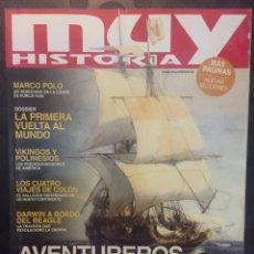 Coleccionismo de Revistas y Periódicos: MUY HISTORIA N.97 AVENTUREROS DE LO IMPOSIBLE . MARZO 2018 .. Lote 194953178