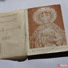 Coleccionismo de Revistas y Periódicos: LIBRETO O POGRAMA DE LA SEMANA SANTA 1955 . Lote 194961785