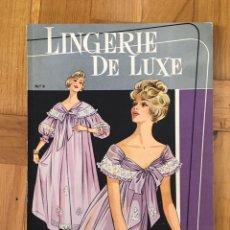 Coleccionismo de Revistas y Periódicos: REVISTA LINGERIE DE LUXE. Lote 194962112