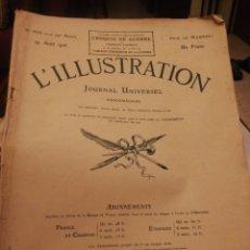 Coleccionismo de Revistas y Periódicos: L'ILLUSTRATION 19 OCTUBRE 1916. Lote 194967182