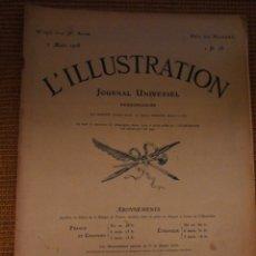 Coleccionismo de Revistas y Periódicos: L'ILLUSTRATION. 2 MARZO 1918. Lote 194967503