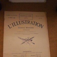 Coleccionismo de Revistas y Periódicos: L'ILLUSTRATION. 31 MARZO 1917. Lote 194967696