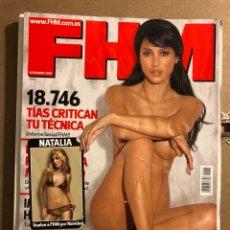Coleccionismo de Revistas y Periódicos: FHM N° 45 (DICIEMBRE 2007). NATALIA DE OT, GANADORA VECINITAS, TARA REID, POSTER DE CHARLOTTE. Lote 194970526