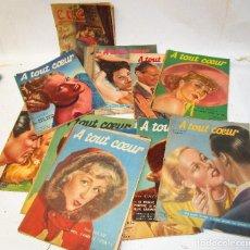 Coleccionismo de Revistas y Periódicos: LOTE REVISTAS ANTIGUAS FRANCESAS MODA AÑOS 50 . Lote 194970598